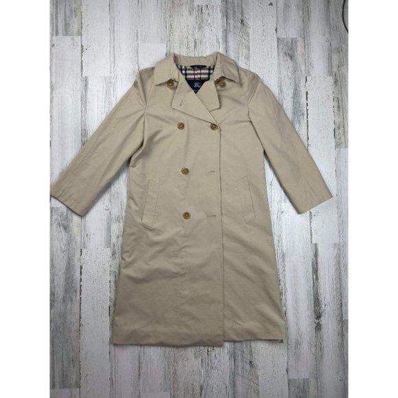 Burberry London Beige Women's Trench Coat Jacket
